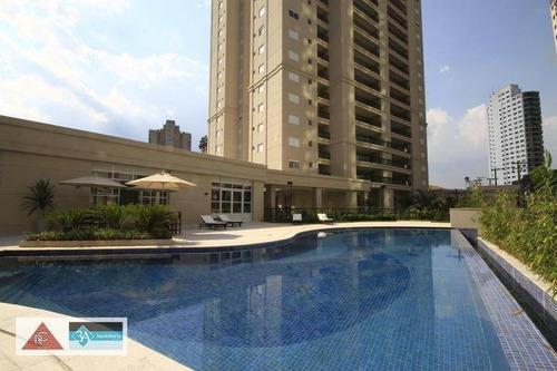 apartamento com 3 dormitórios à venda, 202 m² por r$ 1.980.000 - jardim anália franco - são paulo/sp - ap5633