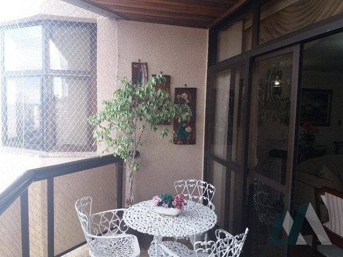 apartamento com 3 dormitórios à venda, 205 m² por r$ 750.000 - edifício tarumã - sorocaba/sp - ap0911