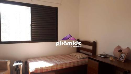 apartamento com 3 dormitórios à venda, 208 m² por r$ 850.000,00 - vila adyana - são josé dos campos/sp - ap10708