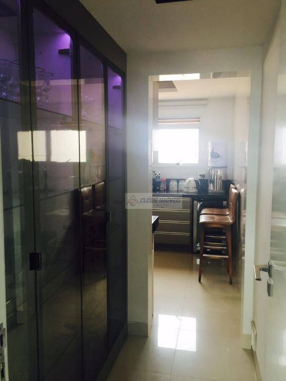 apartamento com 3 dormitórios à venda, 223 m² por r$ 1.150.000,00 - santa rosa - cuiabá/mt - ap0846