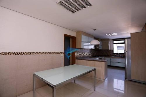 apartamento com 3 dormitórios à venda, 297 m² por r$ 1.860.000 - alphaville industrial - barueri/sp - ap0008