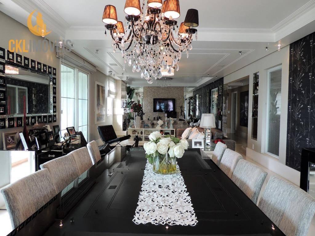 apartamento com 3 dormitórios à venda, 365 m² por r$ 5.750.000,00 - aclimação - são paulo/sp - ap1314