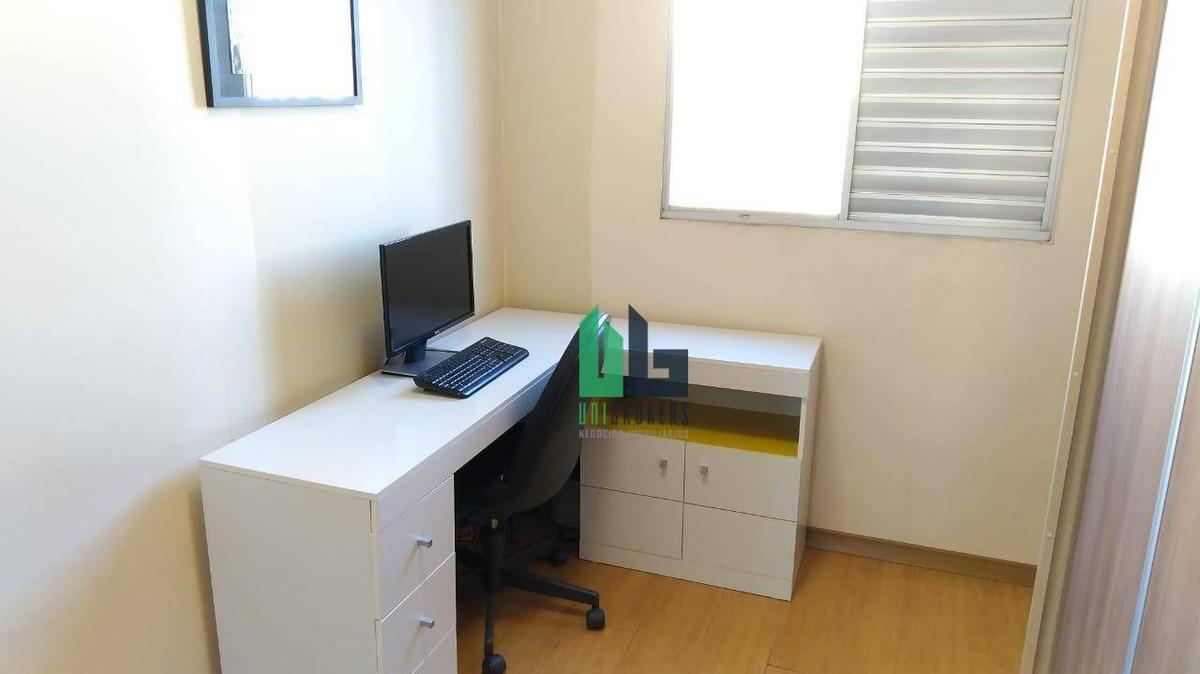 apartamento com 3 dormitórios à venda, 54 m² por r$ 315.000,00 - jabaquara - são paulo/sp - ap1819