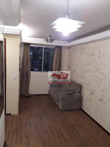 apartamento com 3 dormitórios à venda, 54 m² por r$ 350.000 - vila parque jabaquara - são paulo/sp - ap7934
