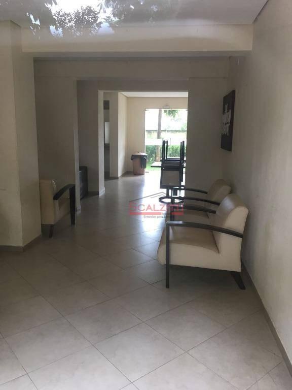 apartamento com 3 dormitórios à venda, 55 m² por r$ 300.000 - jardim centenário - são paulo/sp - ap0246