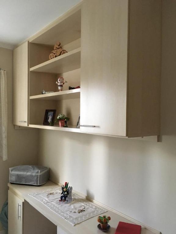 apartamento com 3 dormitórios à venda, 55 m² por r$ 320.000 - picanco - guarulhos/sp - ap0436