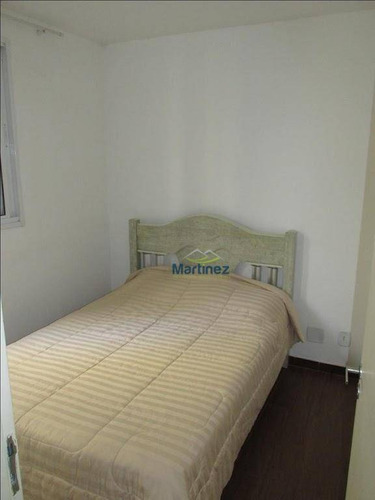 apartamento com 3 dormitórios à venda, 57 m² por r$ 280.000 - vila industrial - são paulo/sp - ap0817