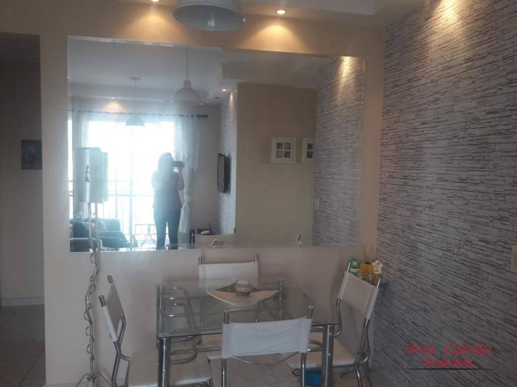 apartamento com 3 dormitórios à venda, 57 m² por r$ 400.000 - vila moreira - são paulo/sp - ap0881