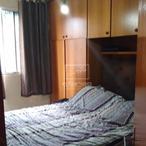 apartamento com 3 dormitórios à venda, 58 m² por r$ 190.000 - itaquera - são paulo/sp - ap0693