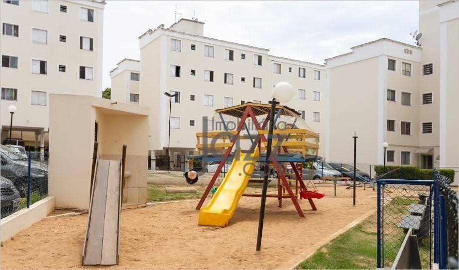 apartamento com 3 dormitórios à venda, 58 m² por r$ 275.000 - vila industrial - campinas/sp - ap2846