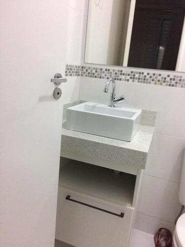 apartamento com 3 dormitórios à venda, 59 m² por r$ 315.000 - vila mendes - são paulo/sp - ap11840