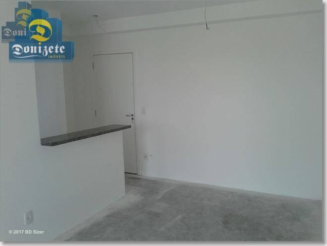 apartamento com 3 dormitórios à venda, 59 m² por r$ 320.000,00 - vila pires - santo andré/sp - ap7238