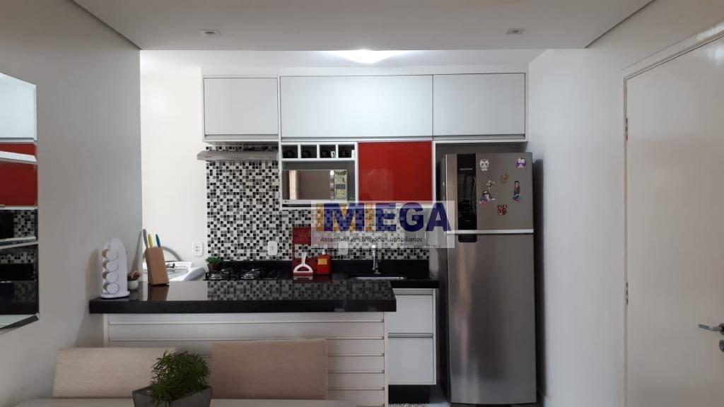 apartamento com 3 dormitórios à venda, 60 m² por r$ 260.000 - parque prado - campinas/sp - ap3668