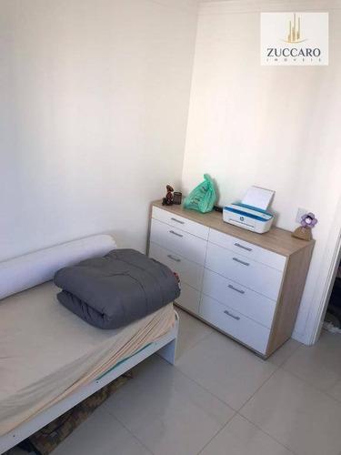 apartamento com 3 dormitórios à venda, 60 m² por r$ 269.000 - ponte grande - guarulhos/sp - ap12865