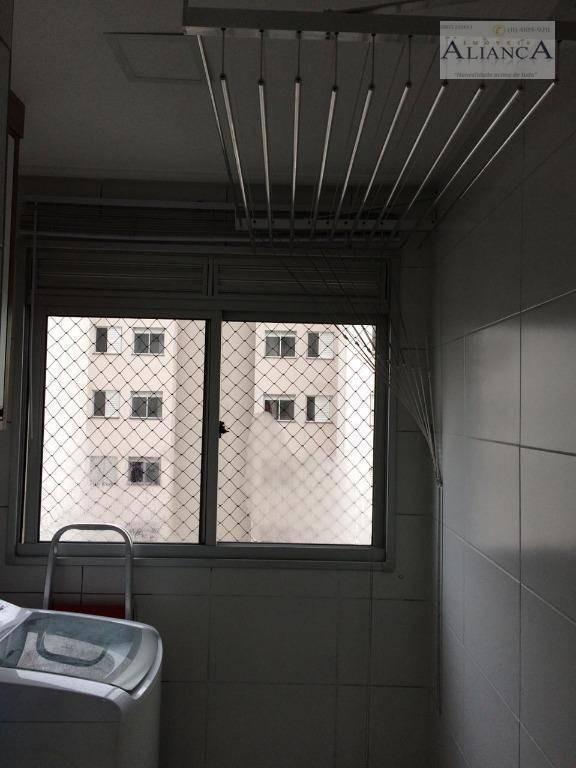 apartamento com 3 dormitórios à venda, 60 m² por r$ 310.000,00 - assunção - são bernardo do campo/sp - ap1958