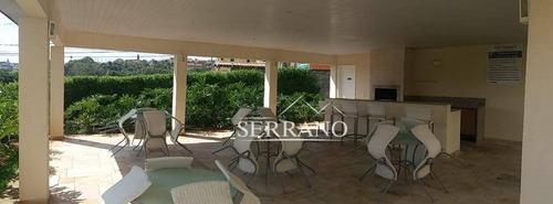 apartamento com 3 dormitórios à venda, 60 m² por r$ 370.000 - condomínio residencial vila ventura - valinhos/sp - ap0193