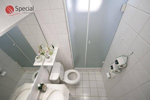 apartamento com 3 dormitórios à venda, 61 m²  - vila lageado - são paulo/sp - ap12368