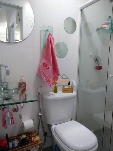 apartamento com 3 dormitórios à venda, 62 m² por r$ 380.000 - vila carmosina - são paulo/sp - ap0048