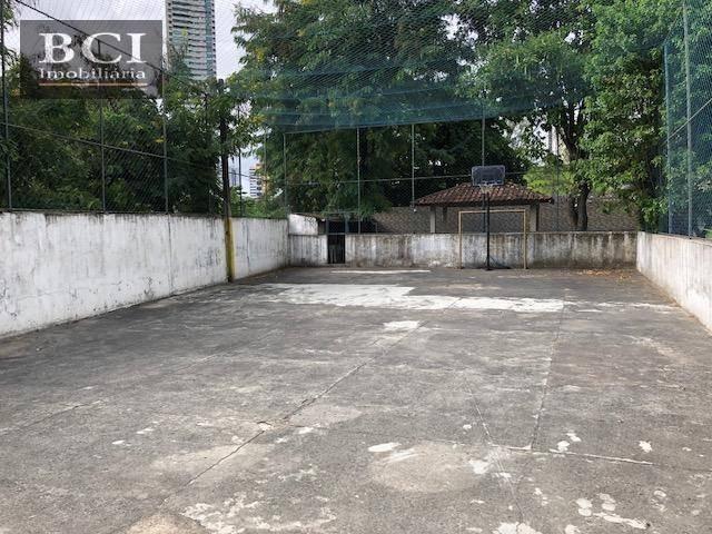 apartamento com 3 dormitórios à venda, 63 m² por r$ 280.000 - torre - recife/pe - ap0473