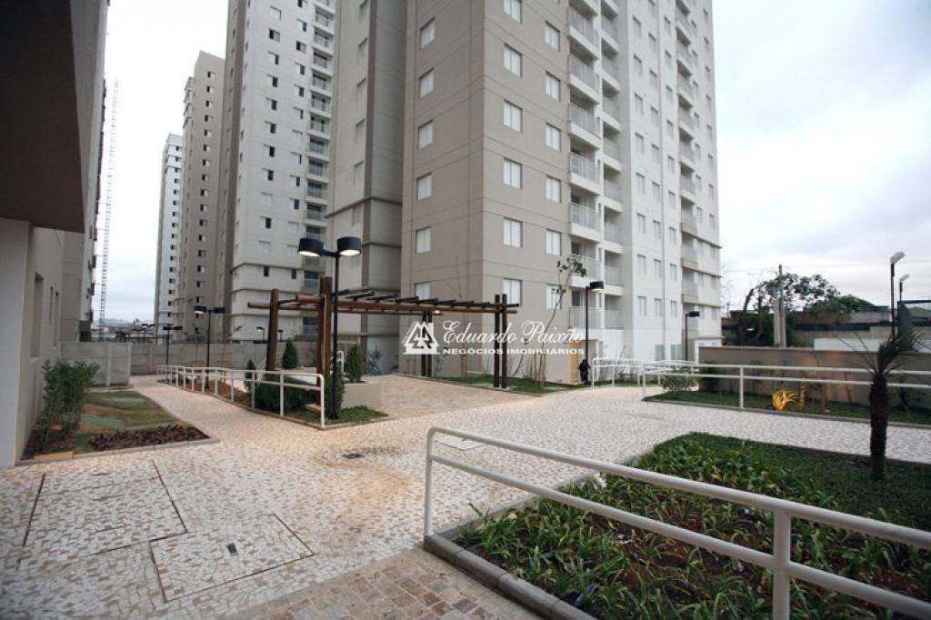 apartamento com 3 dormitórios à venda, 63 m² por r$ 320.000,00 - ponte grande - guarulhos/sp - ap0046