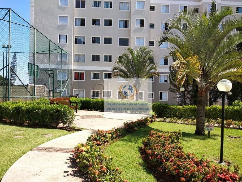 apartamento com 3 dormitórios à venda, 64 m² por r$ 299.000 - jardim nova europa - campinas/sp - ap0529
