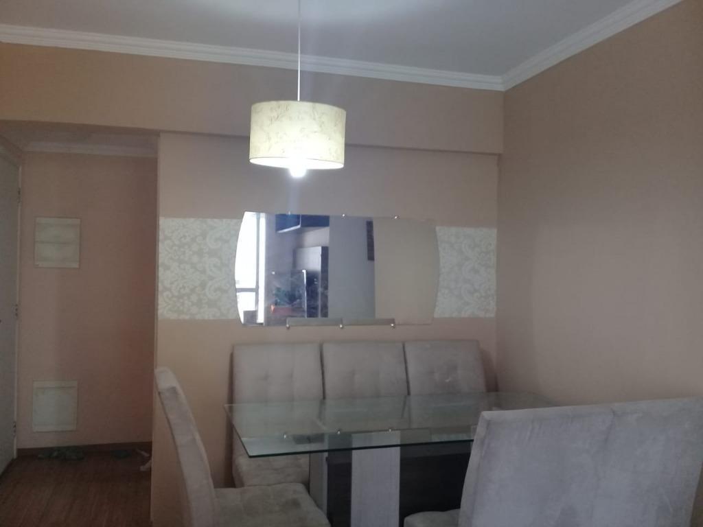 apartamento com 3 dormitórios à venda, 64 m² por r$ 320.000,00 - ponte grande - guarulhos/sp - ap4887
