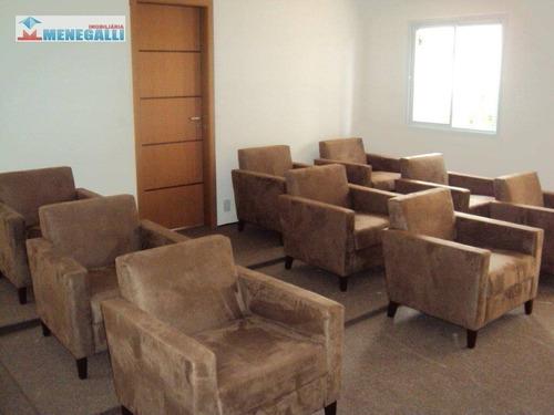 apartamento com 3 dormitórios à venda, 65 m² por r$ 239.000,00 - parque santa cecília - piracicaba/sp - ap0333