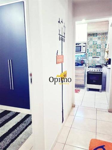 apartamento com 3 dormitórios à venda, 65 m² por r$ 250.000 - morumbi - são paulo/sp - ap1825