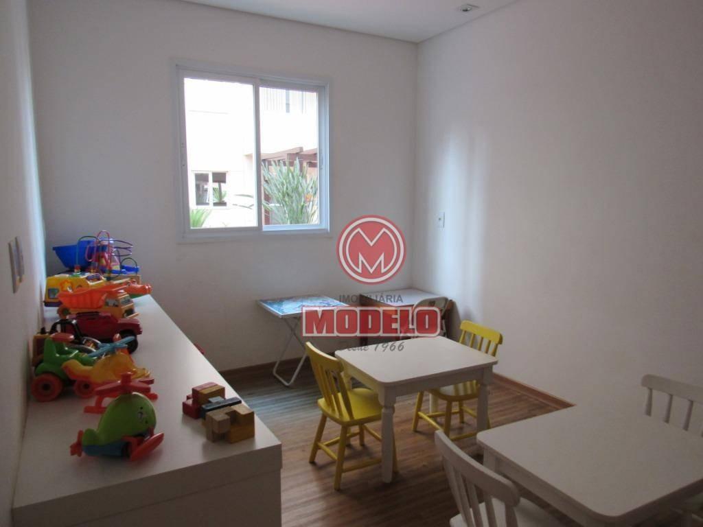 apartamento com 3 dormitórios à venda, 65 m² por r$ 250.000 - parque santa cecília - piracicaba/sp - ap2723