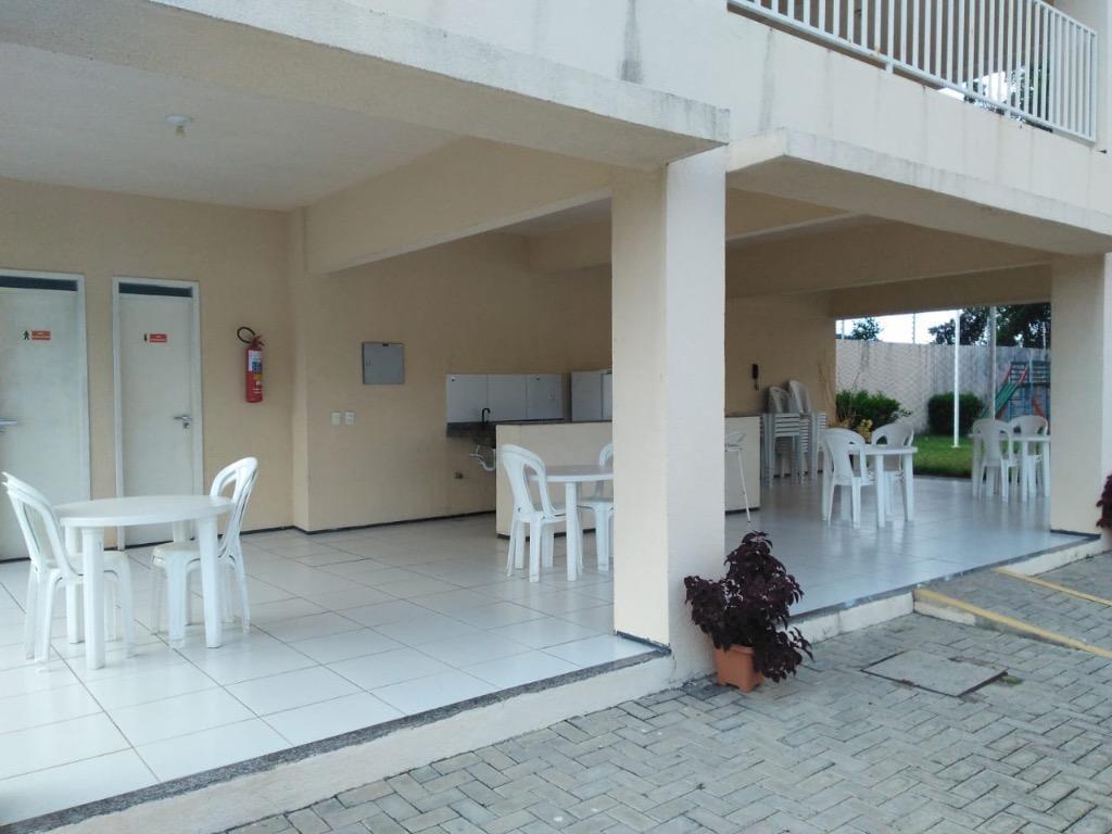 apartamento com 3 dormitórios à venda, 65 m² por r$ 270.000,00 - passaré - fortaleza/ce - ap4238