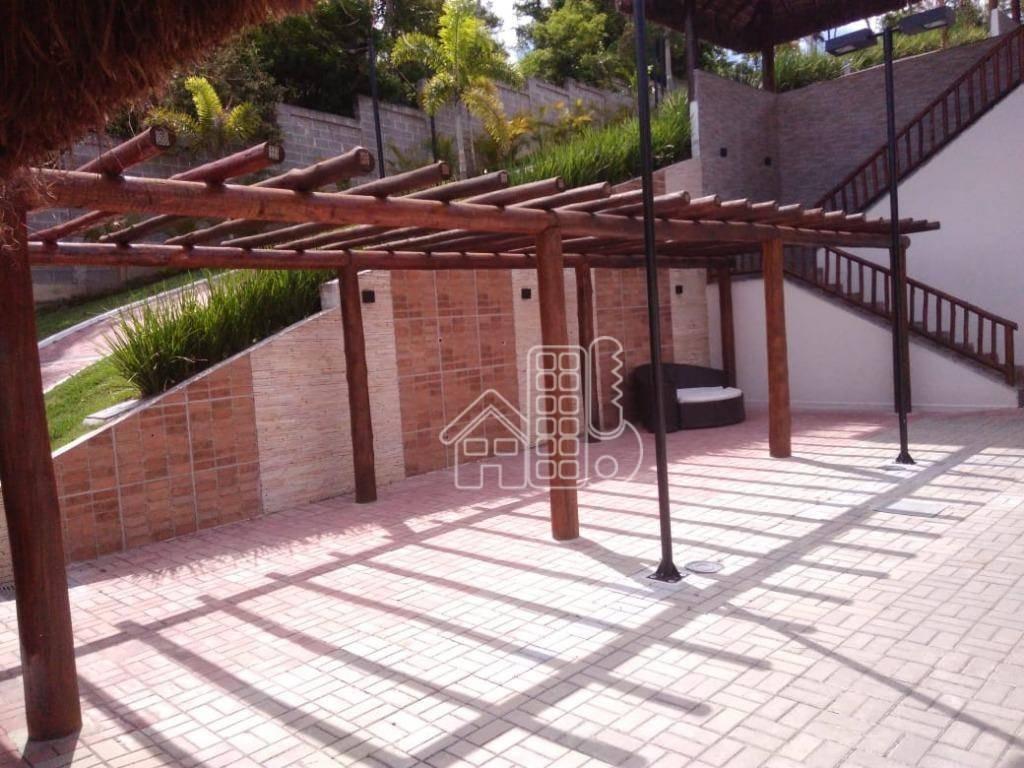 apartamento com 3 dormitórios à venda, 66 m² por r$ 280.000,00 - rio do ouro - são gonçalo/rj - ap3257