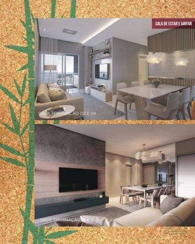 apartamento com 3 dormitórios à venda, 66 m² por r$ 358.000 - imbiribeira - recife/pe - ap1036