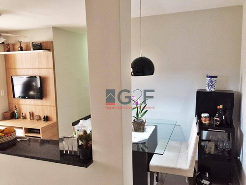 apartamento com 3 dormitórios à venda, 67 m² - jardim nova europa - campinas/sp - ap8026