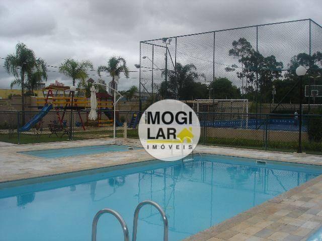 apartamento com 3 dormitórios à venda, 67 m² por r$ 320.000,00 - vila mogilar - mogi das cruzes/sp - ap0009
