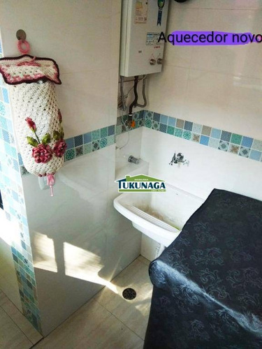 apartamento com 3 dormitórios à venda, 67 m² por r$ 330.000 - parque cecap - guarulhos/sp - ap2411