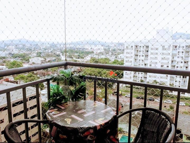apartamento com 3 dormitórios à venda, 67 m² por r$ 350.000 - cavalhada - porto alegre/rs - ap3376
