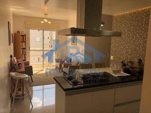 apartamento com 3 dormitórios à venda, 68 m² por r$ 340.000 - jardim tupanci - barueri/sp - ap2824