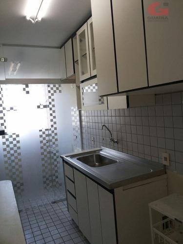apartamento com 3 dormitórios à venda, 68 m² por r$ 350.000 - baeta neves - são bernardo do campo/sp - ap47555