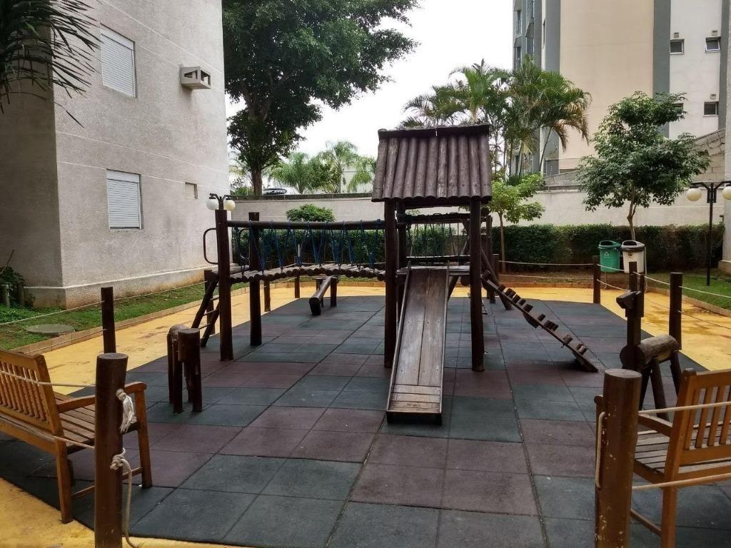 apartamento com 3 dormitórios à venda, 68 m² por r$ 410.000 - vila carrão - são paulo/sp - ap20277