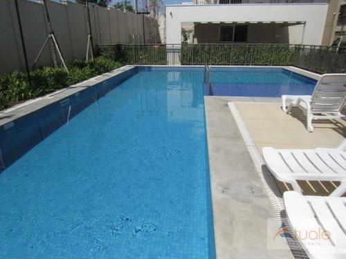 apartamento com 3 dormitórios à venda, 69 m²- jardim chapadão - campinas/sp - ap6067