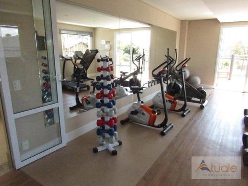 apartamento com 3 dormitórios à venda, 69 m² - jardim chapadão - campinas/sp - ap6069