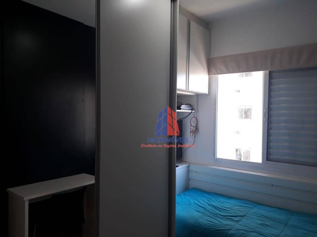 apartamento com 3 dormitórios à venda, 69 m² por r$ 300.000,00 - vila santa catarina - americana/sp - ap1018
