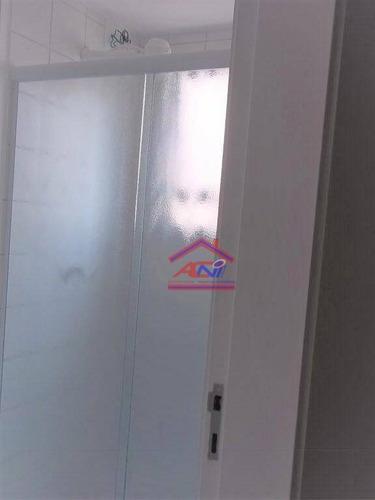 apartamento com 3 dormitórios à venda, 70 m² - condomínio avalon - hortolândia/sp - ap0069