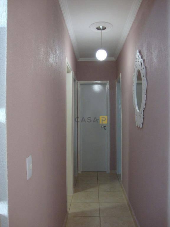 apartamento com 3 dormitórios à venda, 70 m² por r$ 210.000 - jardim bela vista - americana/sp - ap0415