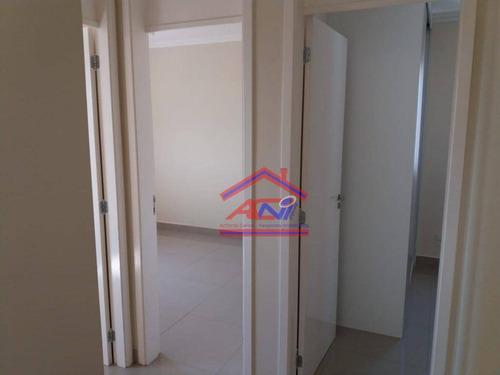 apartamento com 3 dormitórios à venda, 70 m² por r$ 320.000 - condomínio avalon - hortolândia/sp - ap0060