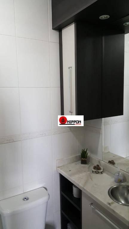 apartamento com 3 dormitórios à venda, 70 m² por r$ 330.000 - vila rosália - guarulhos/sp - ap1295