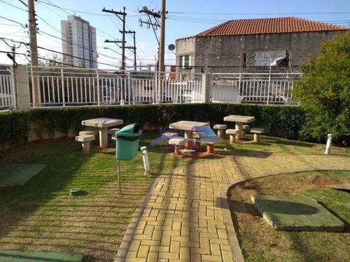 apartamento com 3 dormitórios à venda, 70 m² por r$ 395.000 - vila carrão - são paulo/sp - ap0076