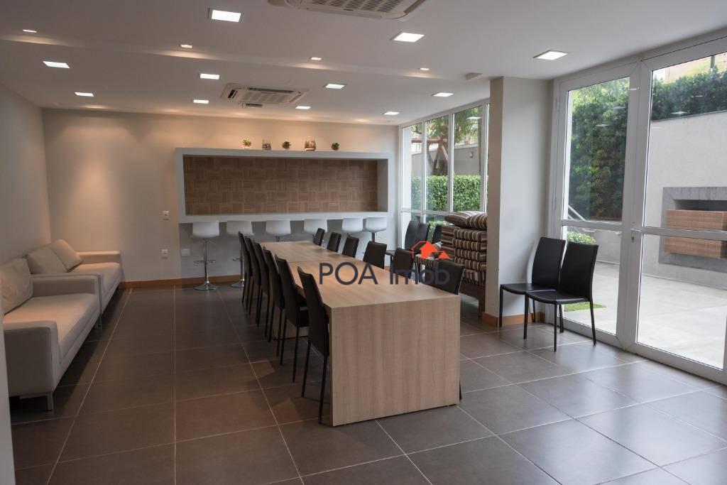 apartamento com 3 dormitórios à venda, 70 m² por r$ 430.000 - tristeza - porto alegre/rs - ap3152