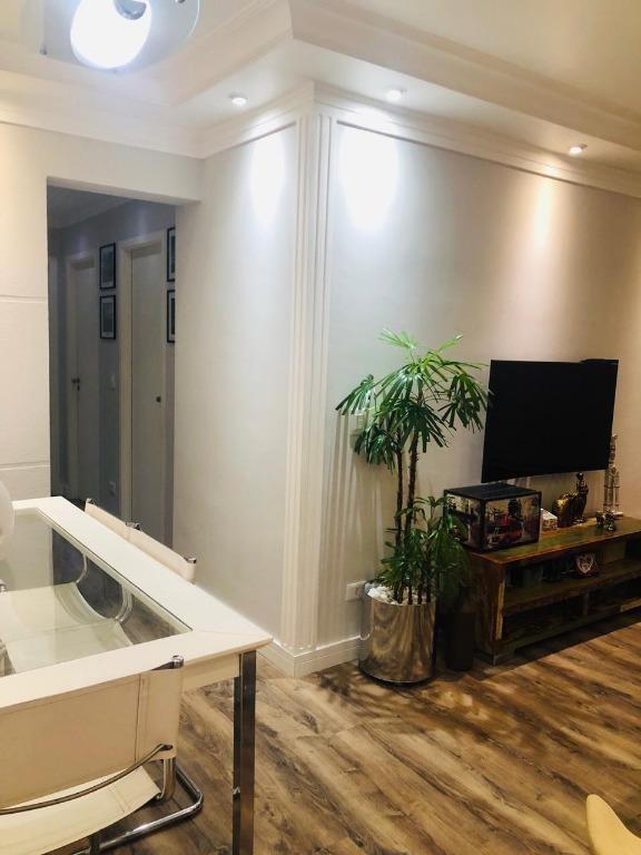 apartamento com 3 dormitórios à venda, 70 m² por r$ 440.000 - vila carrão - são paulo/sp - ap2548