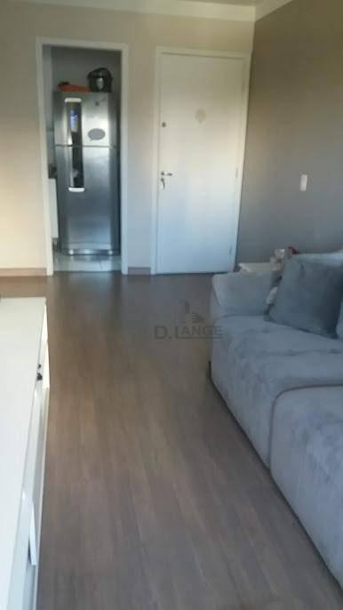 apartamento com 3 dormitórios à venda, 70 m² por r$ 530.000,00 - mansões santo antônio - campinas/sp - ap18535